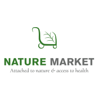 Nature Market logo design