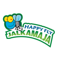 Happy Fly jalkamaja logo